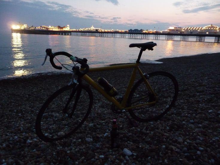 Brighton, here I came (con birra premio)!!!!